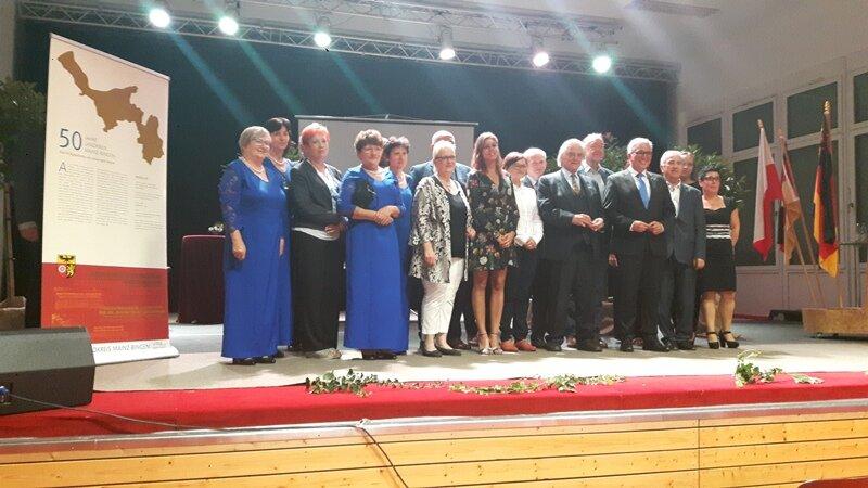 W dniach 23-25 sierpnia, delegacja Powiatu Nyskiego przebywała w partnerskim Powiecie Mainz – Bingen